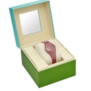 Kate Spade NY Scallop Tracker Rose Gold Watch